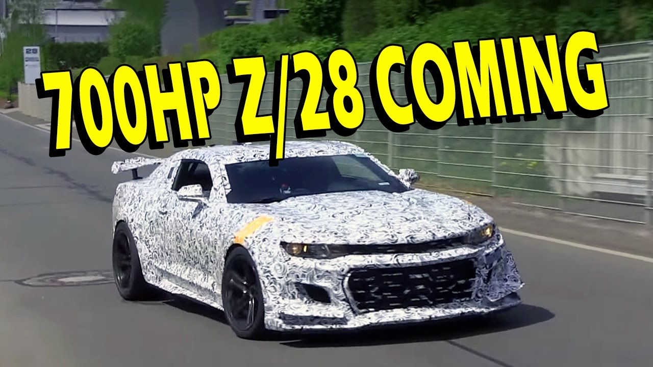 2019 2020 Camaro Z 28 With 700hp Dohc Lt6 Vlog Youtube