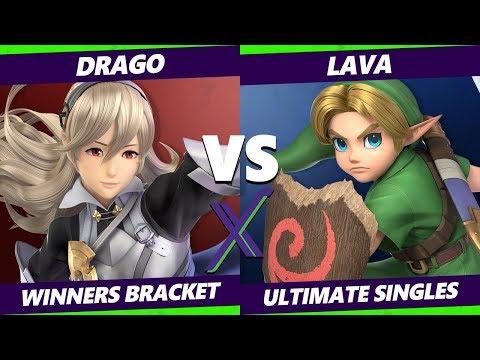 Smash Ultimate Tournament - Drago (Corrin) Vs. Lava (Young Link) S@X 331 SSBU Winners Round 1