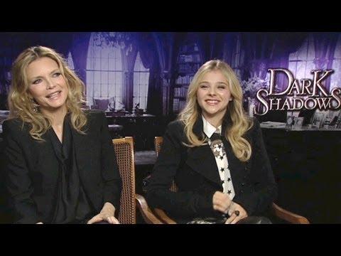 Dark Shadows: Michelle Pfeiffer and Chloë Moretz on their favorite scene