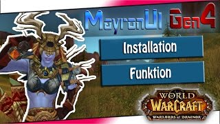 MayronUi Gen 4 | How to: Installation / Install & Funktion [ deutsch ] World of Warcraft Interface