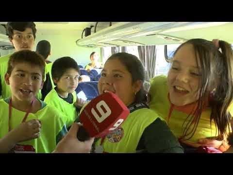 Los alumnos de la Escuela Facundo Arce, de paseo por la Costanera