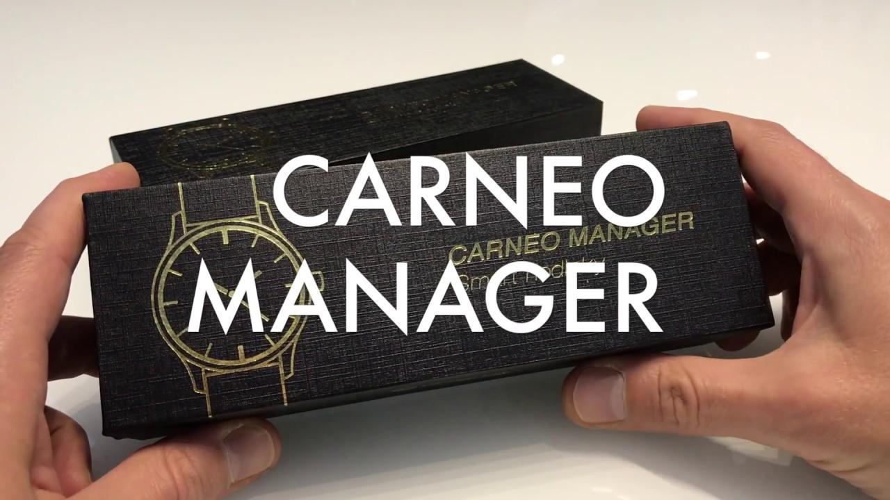 3c0b9506350 Inteligentné hodinky CARNEO MANAGER - YouTube