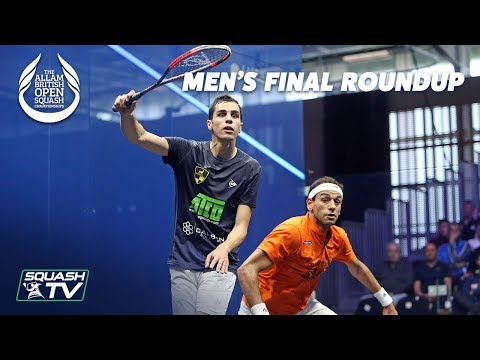 Squash: Farag v ElShorbagy - Men's Final Roundup - Allam British Open 2019
