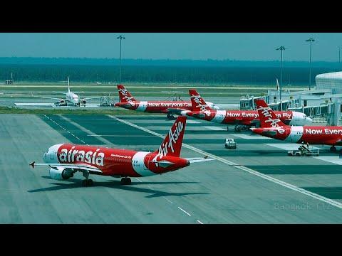 Air Asia Flight - Kuala Lumpur to Bangkok - April 2015