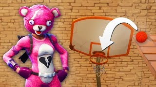 CAN YOU SCORE A BASKETBALL IN FORTNITE? (Fortnite Mythbusters)