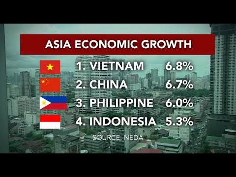 Philippine economy grows 6.0% in Q2 of 2018 according to NEDA
