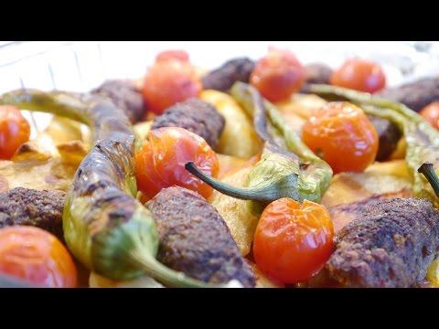 fırında patates köfte tarifi  izmir köfte nasıl yapılır