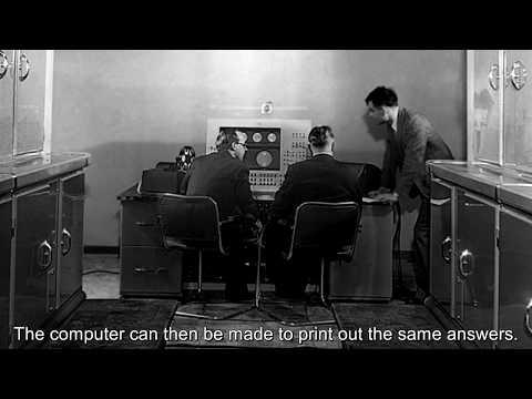 Alan Turing's lost radio broadcast rerecorded
