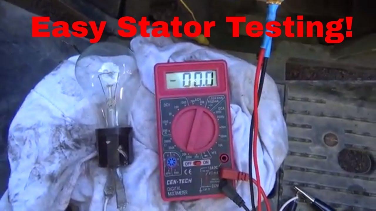 Easy stator testing, ATV, UTV, Off Road Kart, motorcycle, diagnostics