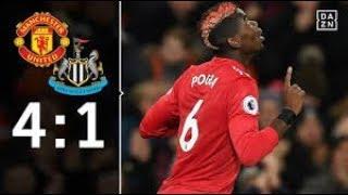 Ibrahimovic-Comeback und Matchwinner Pogba: Manchester United - Newcastle 4:1 | EPL | DAZN