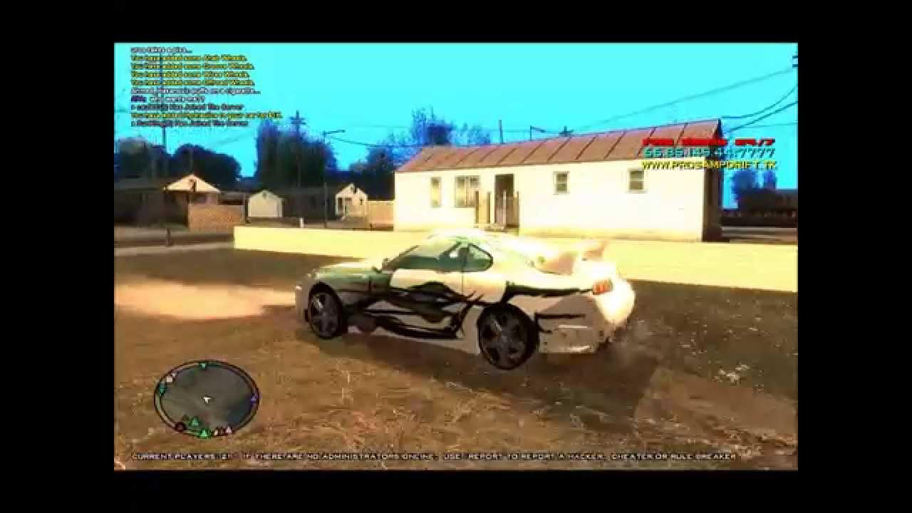 Gta Sa Mp 2013 Tuned Cars Youtube