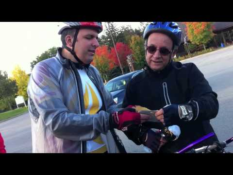 Vaughan Councillor Tony Carella Roars the Road with the Veneto Cycling Club