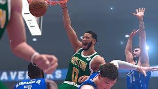 NBA 2K20 Modded Season Showcase: Celtics vs. Mavs - NBA 2K19 PC Overhaul