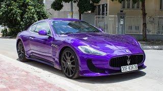 Nghe tiếng pô của Maserati GranTurismo lên kit MC Stradale | XSX