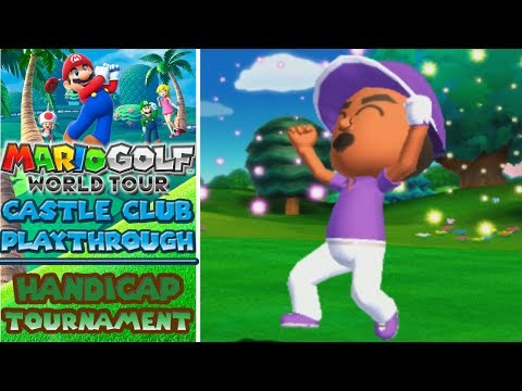 Mario Golf World Tour - Forest Course - Handicap Tournament (Part 2)