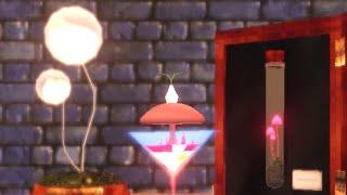 魔法のキノコのゼリーパフェ- mushroom parfait-