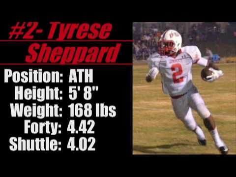 2017- 'Street Light Recruiting' ATH- Tyrese Sheppard (Forty- 4.42) -Wadley High School (AL)