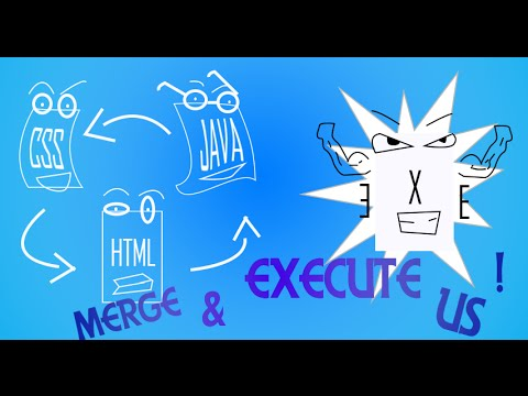 Merge And Execute Site Files (HTML, JAVA, CSS) ETC.