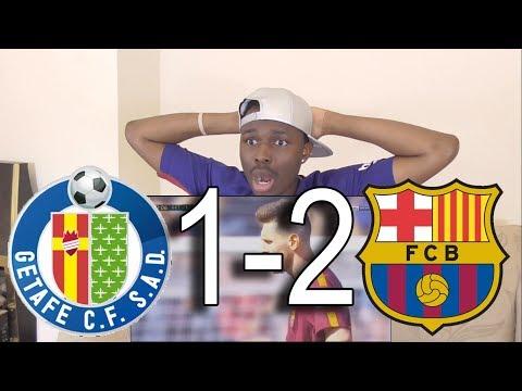 Getafe vs Barcelona 1-2 ● All Goals & Highlights: Reaction