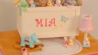 Toy Box Fondant Cake