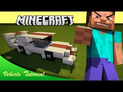 minecraft how to build a race car