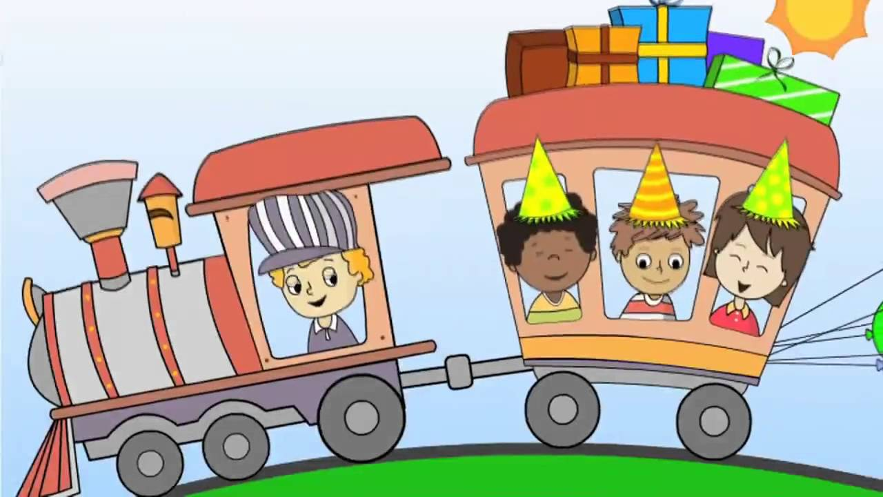 CHOO CHOO Birthday Party Train Song For Children