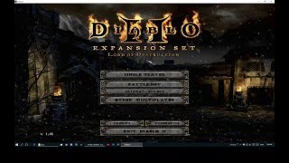 Diablo 2: How to backup And abuse it ! (Single player)