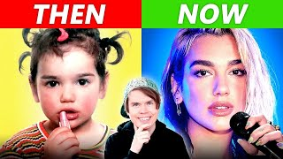 Singers Before & After Fame (Dua Lipa, Bruno Mars & MORE)