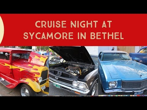 Highlights From Cruise Night At The Sycamore Drive-In In Bethel