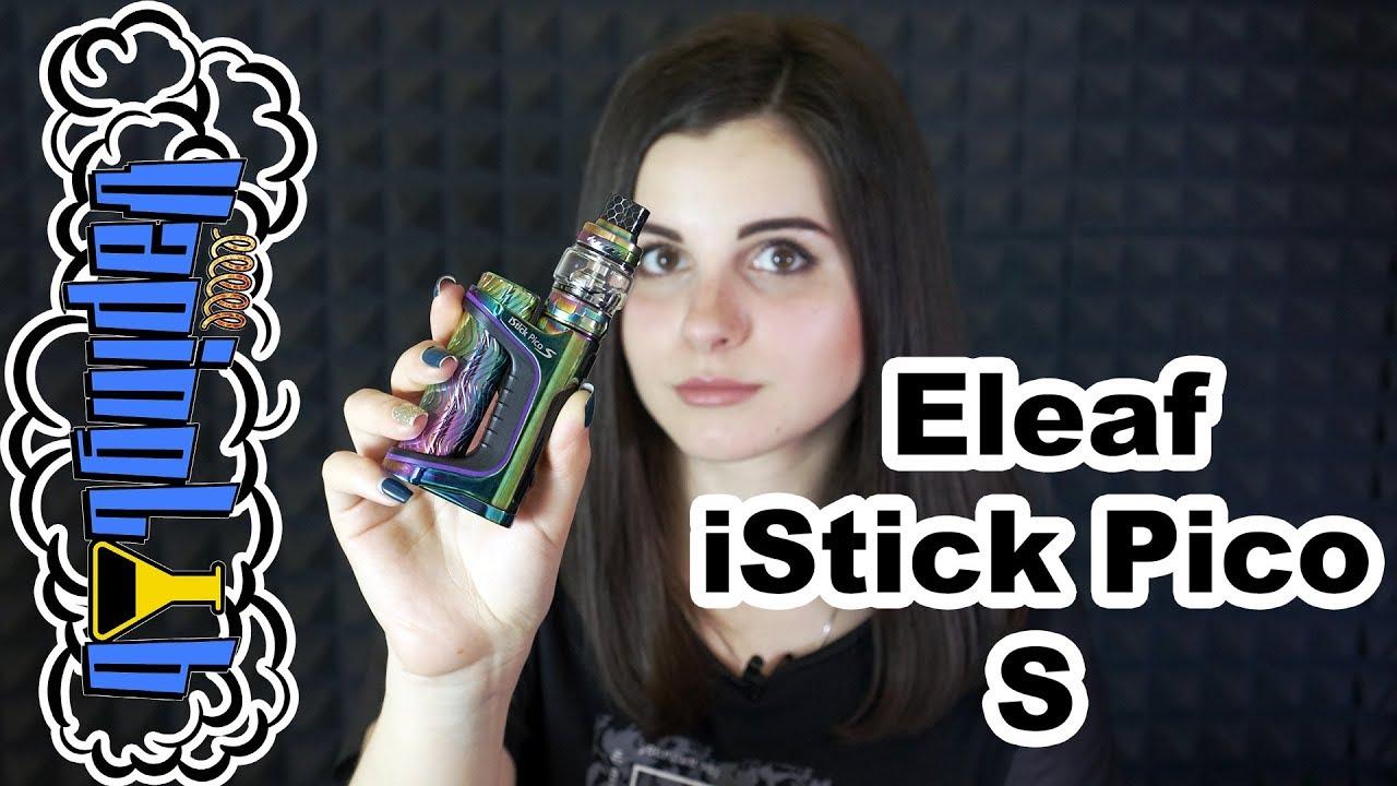 Обзор набора Eleaf iStick QC 200W Kit - YouTube