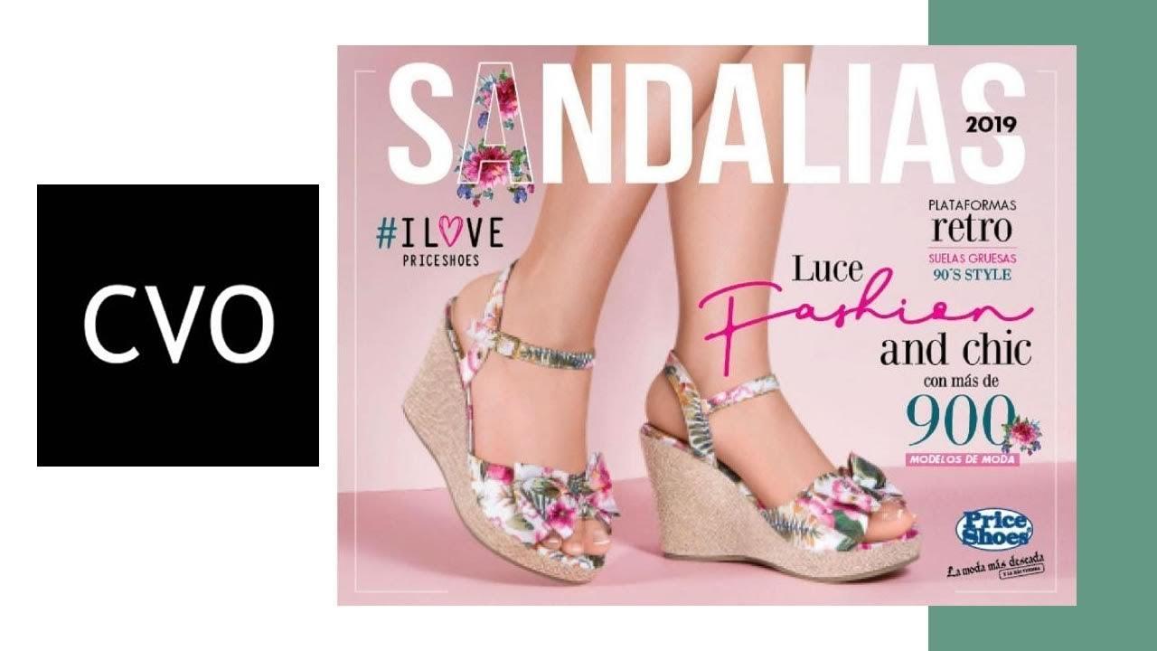 489a0c0f Catálogo Price Shoes SANDALIAS 2019 - YouTube