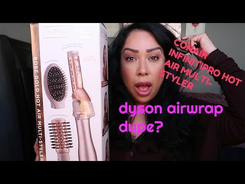 CONAIR InfinitiPro HOT AIR BRUSH MULTI-STYLER | FIRST IMPRESSIONS AND REVIEW