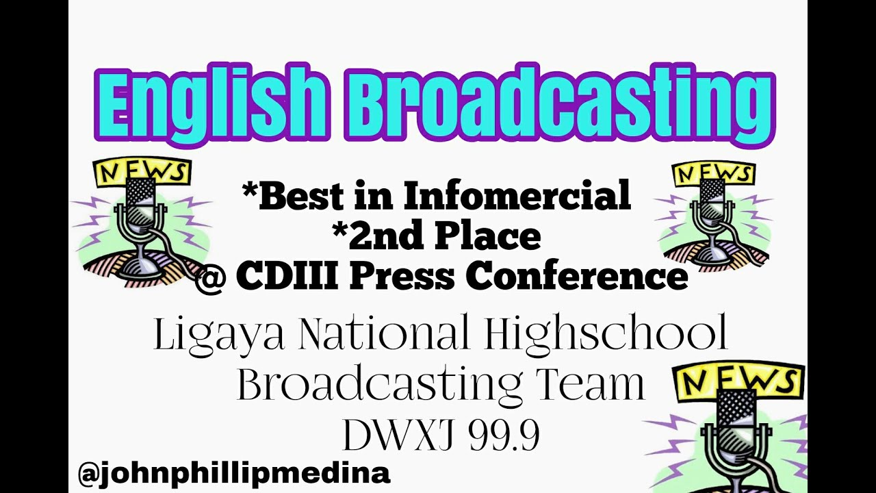 English Broadcasting Sample / Best In Infomercial - Broadcasting [LNHS]