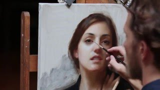 Joshua LaRock Portrait Painting