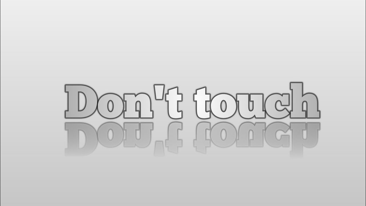 Download Don't touch
