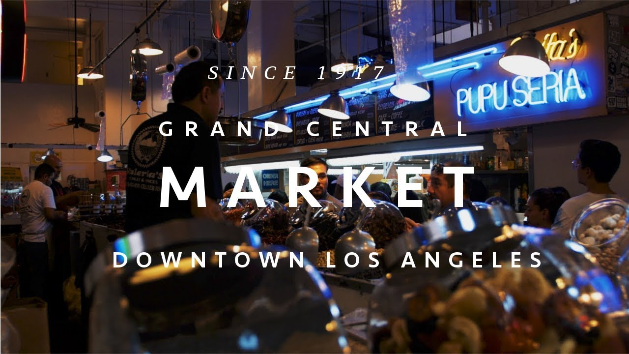 Grand Central Market 100th anniversary Downtown Los Angeles グランドセントラルマーケット ロザンゼルス