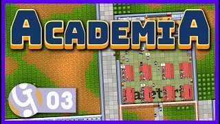 📚 Grubs Up! | Let's Play Academia School Simulator #03