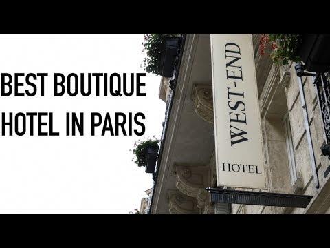 BEST BOUTIQUE HOTEL IN PARIS | Hotel West End