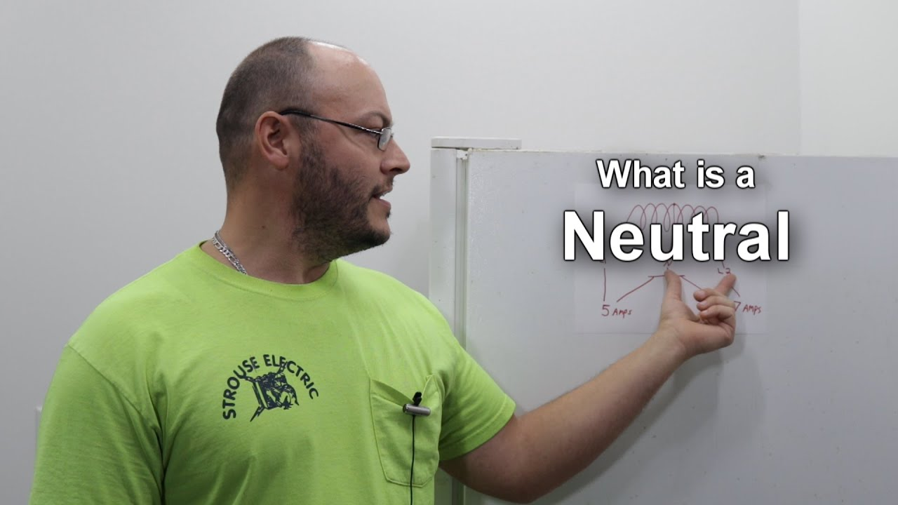 What does the Neutral Wire Do  YouTube