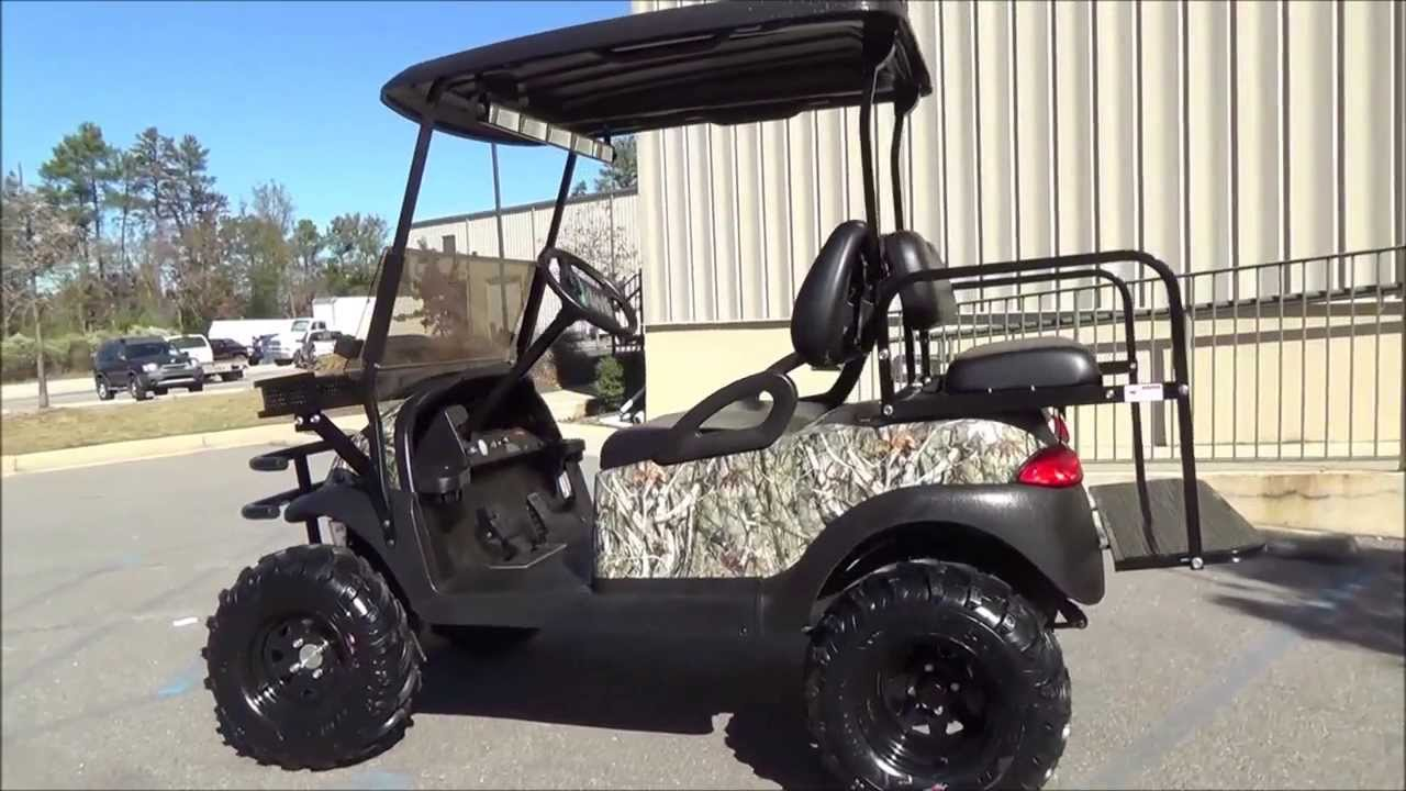 Wheel Drive Electric Golf Cart The Judge Youtube