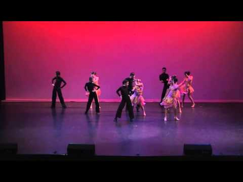 dance stream studio recital.  Don't Stop The Music.Latin