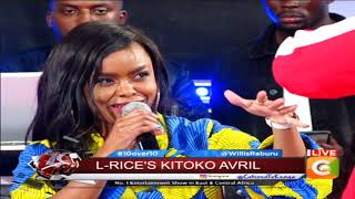 10 OVER 10 |Avril and L-Rice performing Kitoko