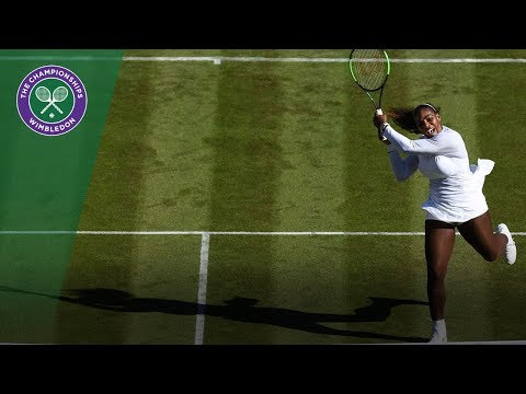 Serena Williams returns with straights sets win at Wimbledon 2018