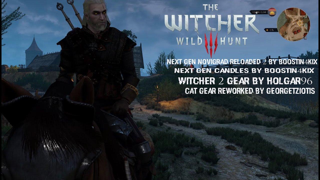 The Witcher 3 Mods # 12 Next Gen Novigrad Reloaded & Witcher 2 ...