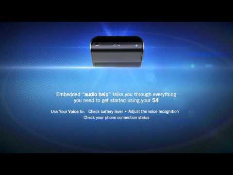 BlueAnt S4 True Handsfree Voice Controlled Car Speakerphone