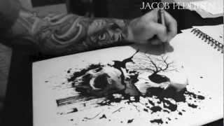 Jacob Pedersen Ink master sweden drawing