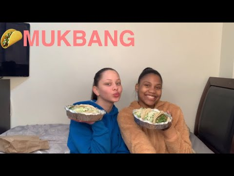 Tacos Mukbang With Solenni  Answering Questions  Lucyy Bree