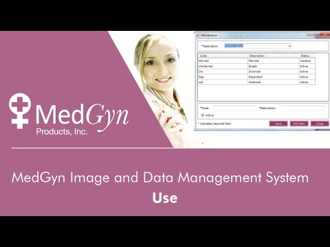 MedGyn Image and Data Management System - Use