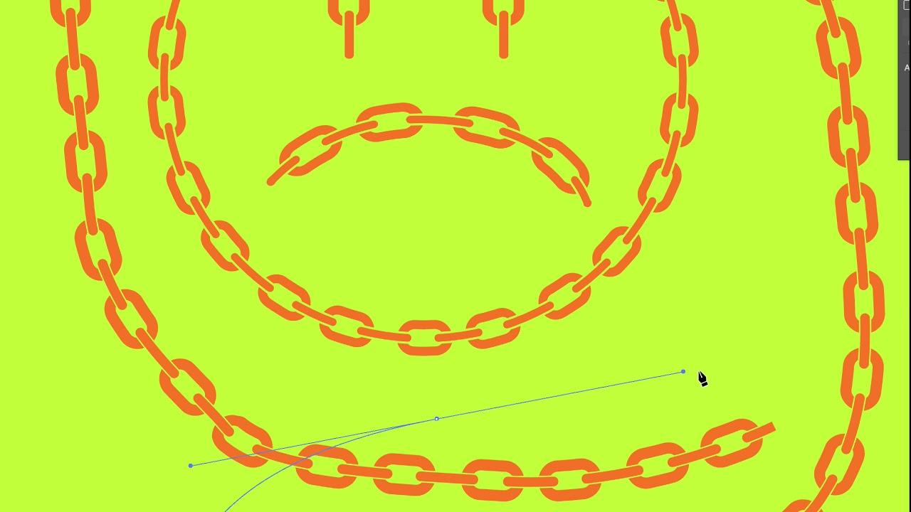 Chain Brush for Illustrator