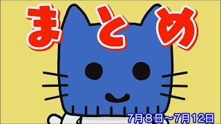 【マスクにゃんニュース】今週のまとめだにゃん!7/8-12